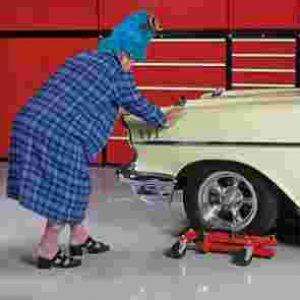 Gato Transporta Coche RuedasCric Hydraulique Pour Bouger VoitureCric Idraulico a Carrello Posizionatore AutoGato Transporta Coche Ruedas