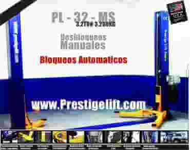 Elevador 2 Columnas 3200KG 220V PL32 AGOTADO!!!! SIN FECHA DE REPOSICIÓN PREVISTAPont Elevateur 2 Colonnes 3200KG 220V PL32 Sollevatore 2 Colonne 3200KG 220V PL32 Two Post Lift 3200KG 220V PL32