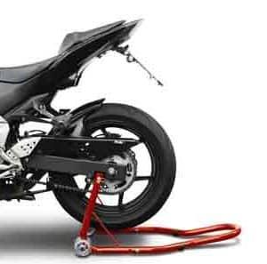 Caballeta trasero motocicleta