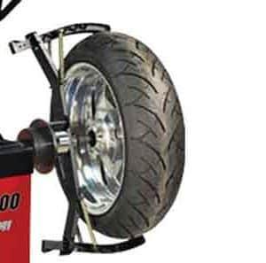 Adaptador motos para equilibradoras