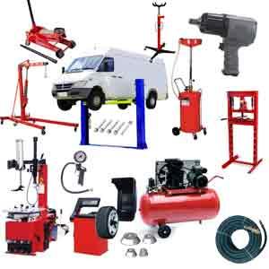 Lote de equipamiento taller 14 maquinas y herramientas