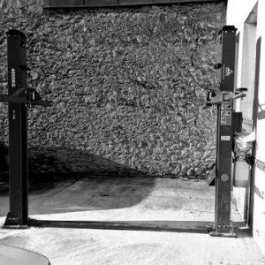 elevador de dos columnas en lugo