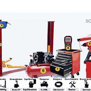maquinaria de taller mecanico por cierre