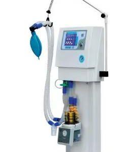 respirador asistido ventilador pulmonar